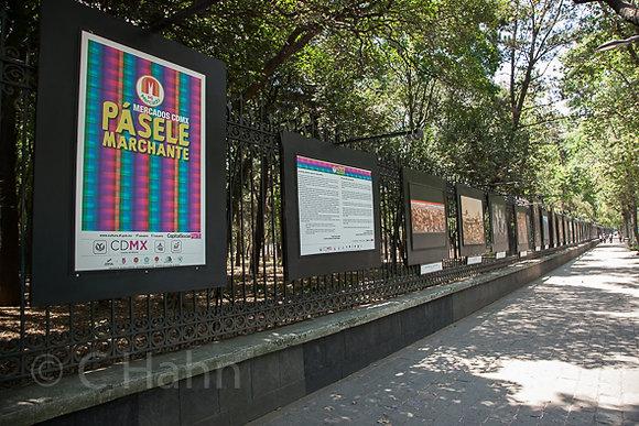 """Exposición rejas de chapultepec"""" Pásele Marchanta"""""""