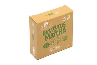 Empaque para pastelitos de Matcha Snack Benefit