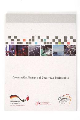 Folder Cooperación Alemana al Desarrollo Sustentable