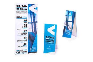 Tend Card Display Torre Latino
