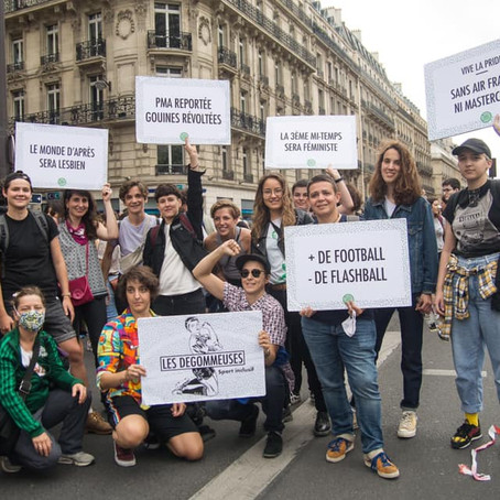 Les Dégommeuses, fútbol contra el sexismo, la homofobia y las discriminaciones