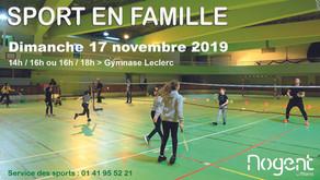 Nogent-sur-Marne: Deporte dominical en familia: un impulso para la igualdad