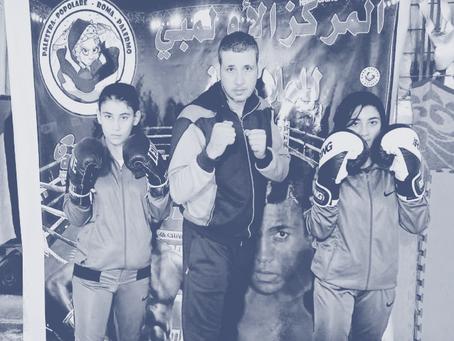 """""""Boxeo contra el asedio"""": jóvenes palestinas y deporte"""