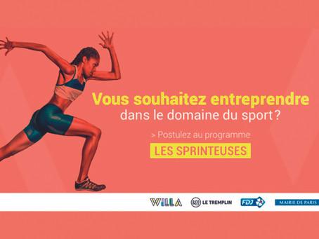 Les Sprinteuses: programa de emprendedoras deportivas