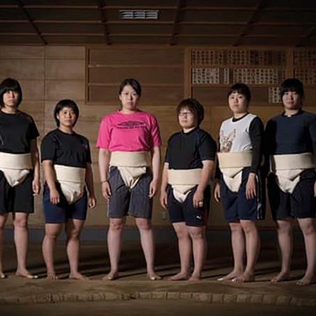 Sumo: 2000 años de exclusión deportiva de las mujeres