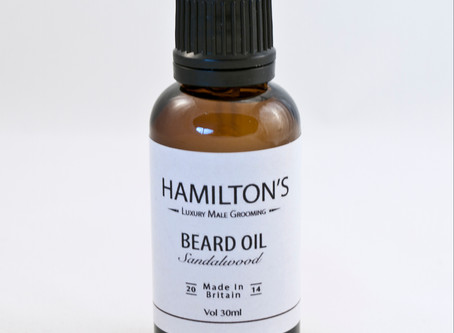 Hamilton's Voted Top Beard Oil By AskMen.com