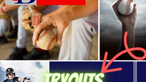 Fall Baseball Tryouts are just around the Corner!