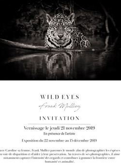 Carton d'invitation  Wild Eyes V4 FR