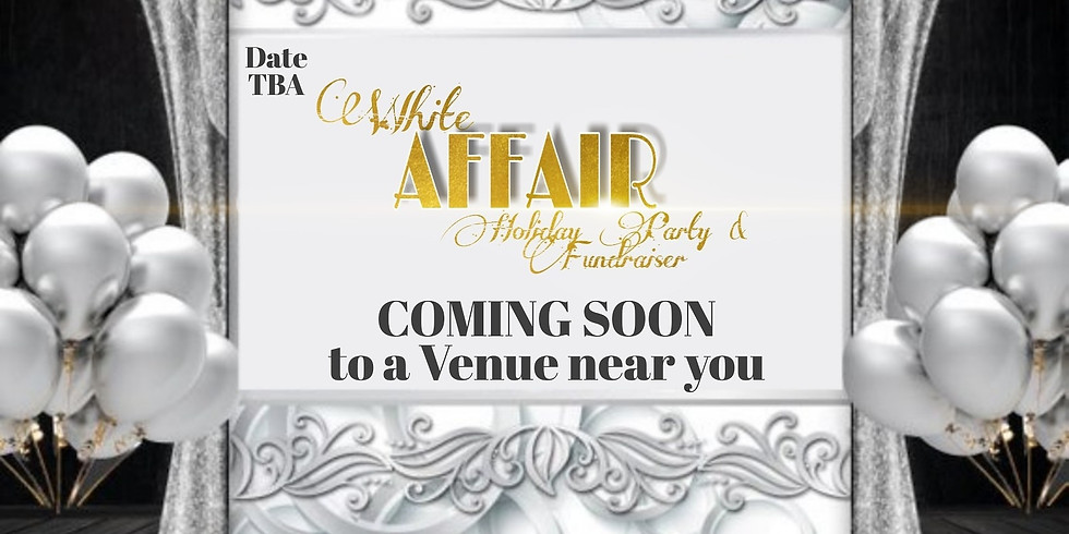 All White Holliday Party and Fundraiser