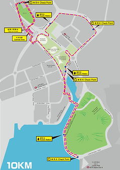 Monchhichi x 為食跑2019_10公里路線
