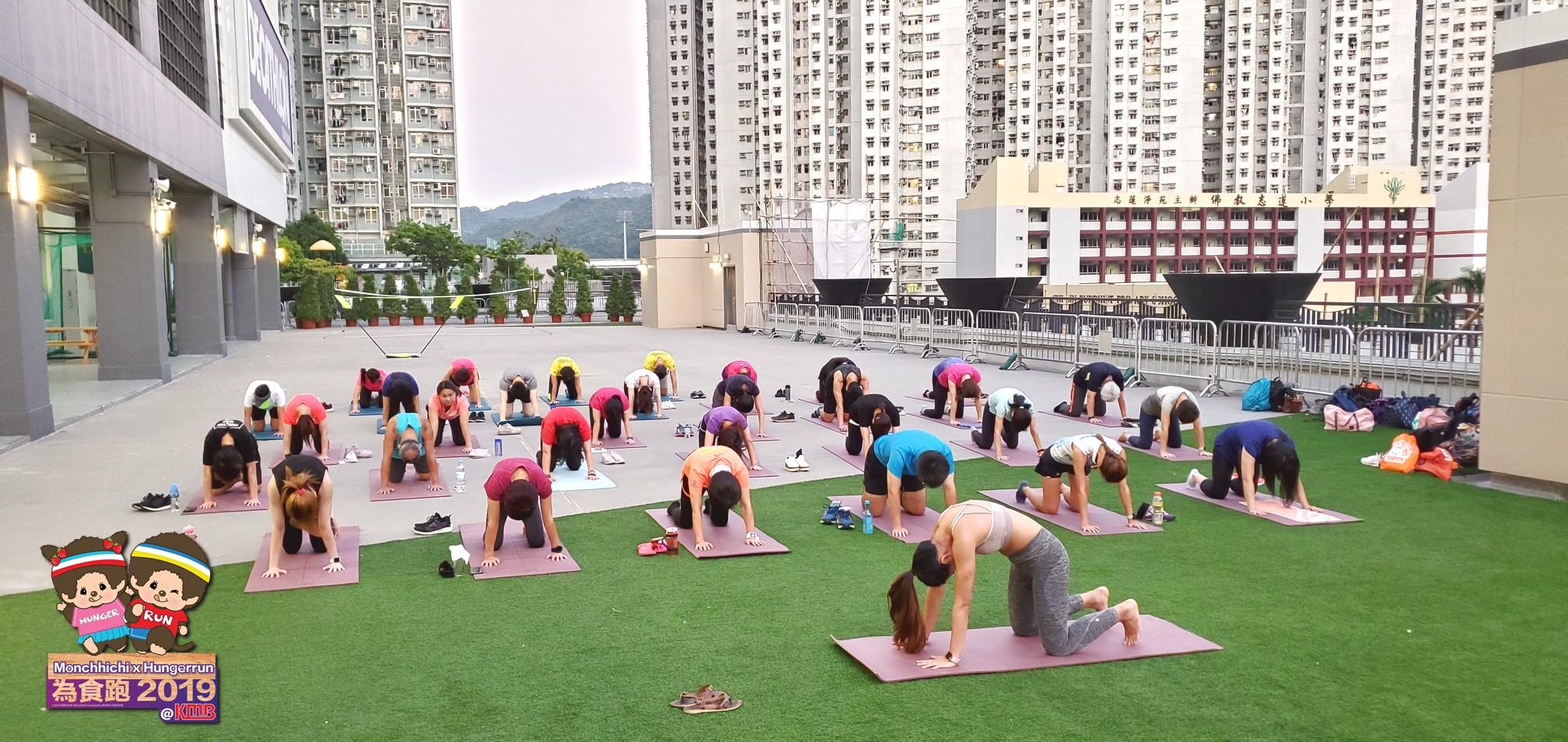 Monchhichi x 為食跑2019 - 瑜珈工作坊