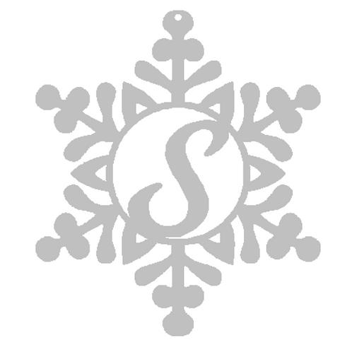Monogram Snowflake
