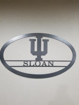 Sloan Name Sign