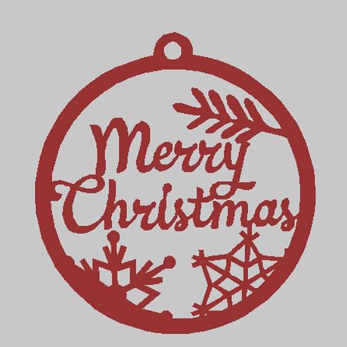 Merry Christmas Door Ornament