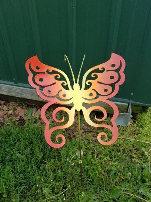 Butterfly Yard Stake