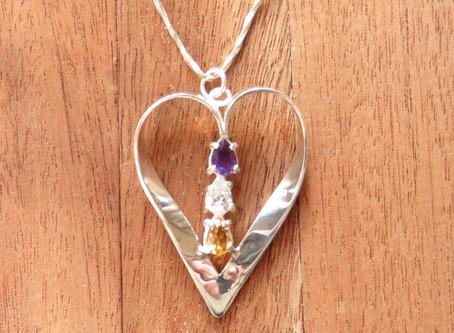 Winner of design your own jewellery