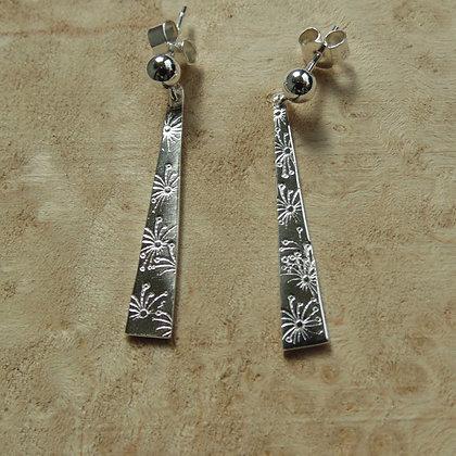 Agapanthus earrings