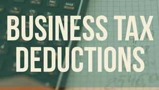 Three Overlooked Business Tax Deductions