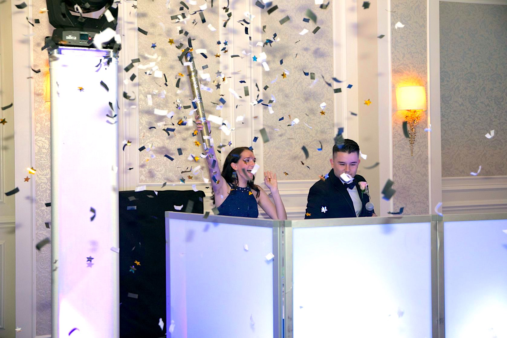 DJ Booth Confetti