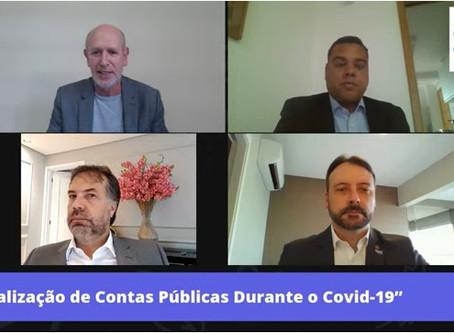 """AMPCON participa do  Live """"Fiscalização de Contas Públicas durante Covid-19"""""""