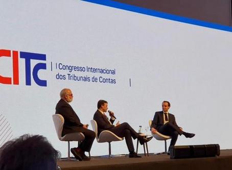 AMPCON PARTICIPA DO I CONGRESSO INTERNACIONAL DOS TRIBUNAIS DE CONTAS