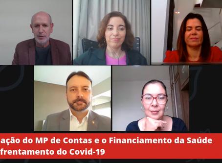 Live inicial da Série AMPCON ANALISA debateu financiamento da saúde e monitoramento das contas