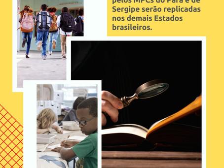Iniciativas do MPC/SE e MPC/PA são selecionadas para serem replicadas por outros MPCs do Brasil