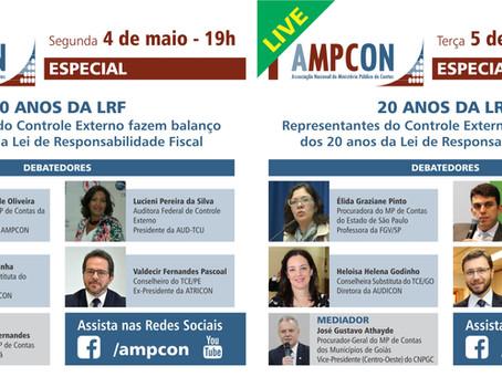 AMPCON ESPECIAL LIVE comemora 20 anos da LRF