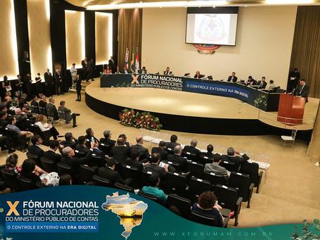 X FÓRUM NACIONAL DE PROCURADORES DO MINISTÉRIO PÚBLICO DE CONTAS É ENCERRADO COM ÊXITO EM MANAUS/AM