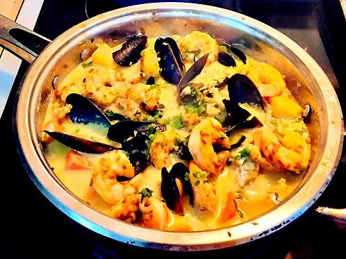 Island Curried Seafood