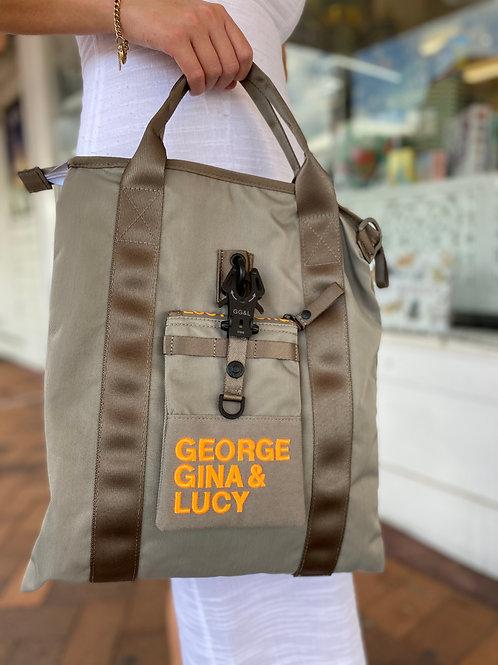 Handbag Taupe Mud Orange