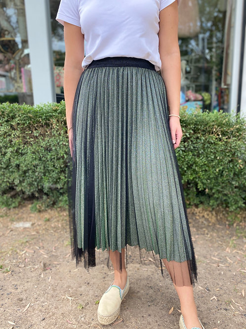 Skirt Sparkle Moss Black