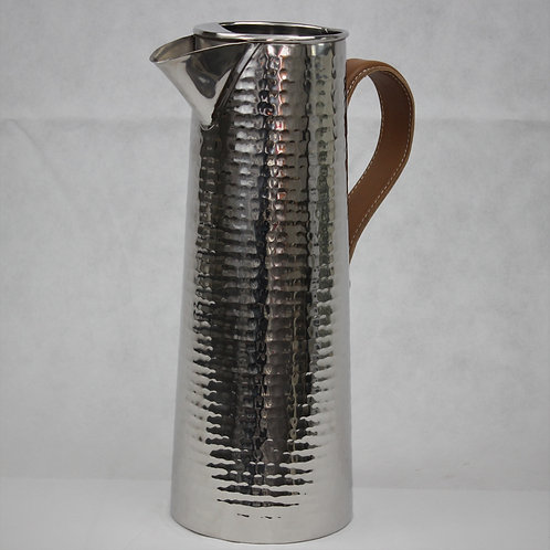 Hammered Metal Water Jug