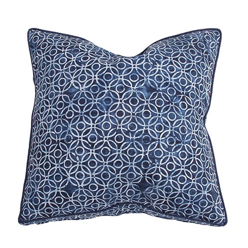 Cushion Indigo Rings