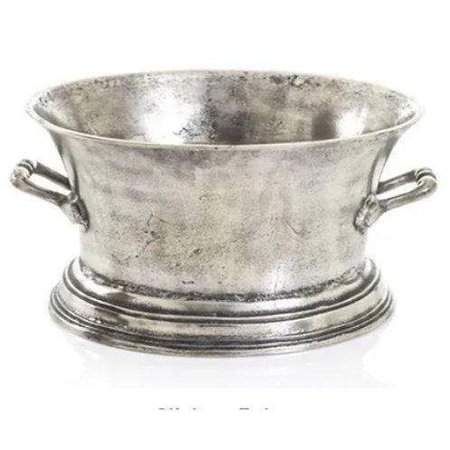 Wine Tub Antique Silver finish