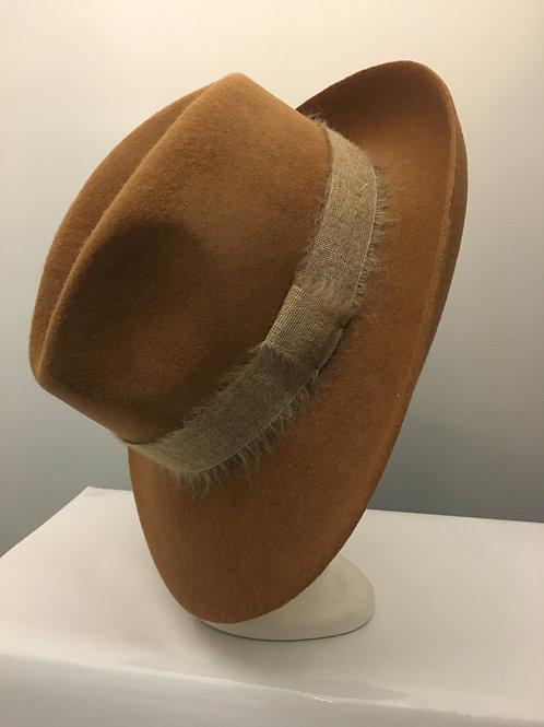 Winter Tan Coloured Wool Hat