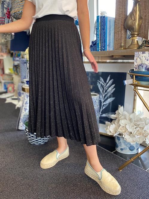 Skirt Pleated w/ Silver Fleck