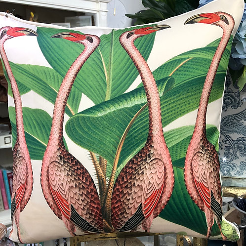 Cushion Flamingo