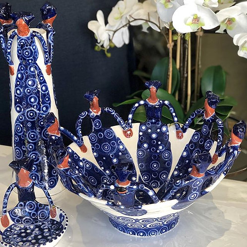 3 Lady Vase