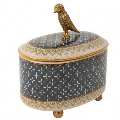 Trinket Box Bird Este Pajaro-Azul