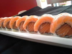 Salmon Nigiri Roll