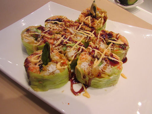 Churchil Roll(no rice,w/soy paper)