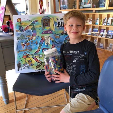 Lego Prize Winner Callum