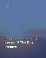 Heaven's Blueprint Study Guide Lesson 7