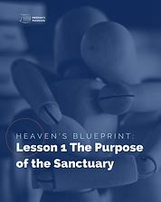 Heaven's Blueprint Study Guide Lesson 1 Cover