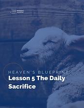 Heaven's Blueprint Study Guide Lesson 5 Cover