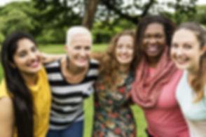 woman multiracial sisterhood - adobe sto