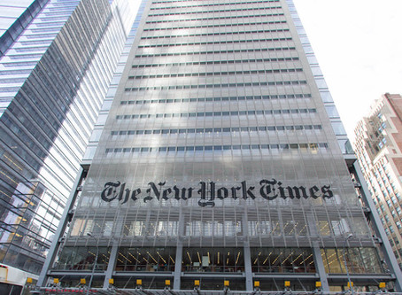 New York Times Editor Forced to Resign for Allowing Pro-Trump Piece