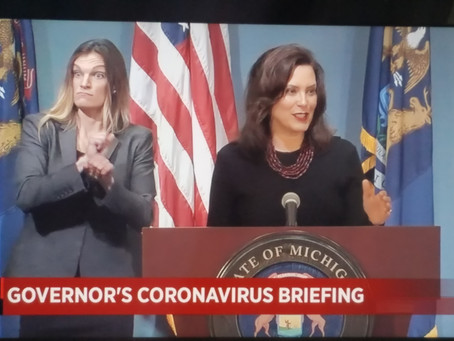 Michigan Governor Gretchen Whitmer Wants to Defund State's Police Departments