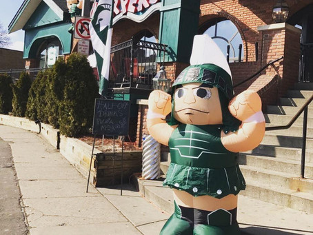 Drunk Spartans Keep Many Michigan Businesses Shut Down
